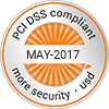 PCI-DSS compliant - MAY-2017 - more security